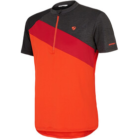 Ziener Nelih Maillot de cyclisme Homme, new red